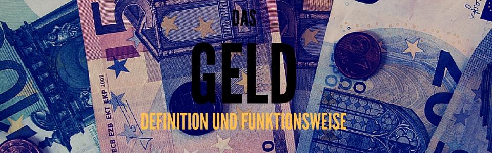 Definition Geld