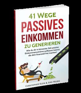41 Wege passives Einkommen zu generieren