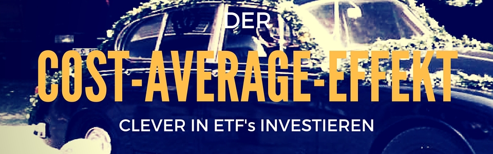 Cost Average Effekt bei ETFs