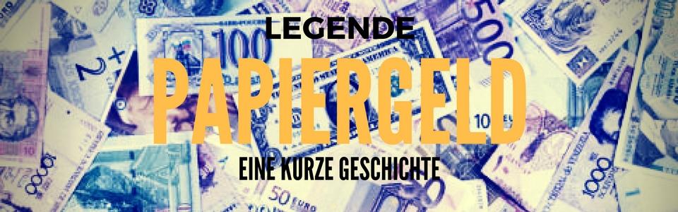 PAPIERGELD – EINE KURZGESCHICHTE